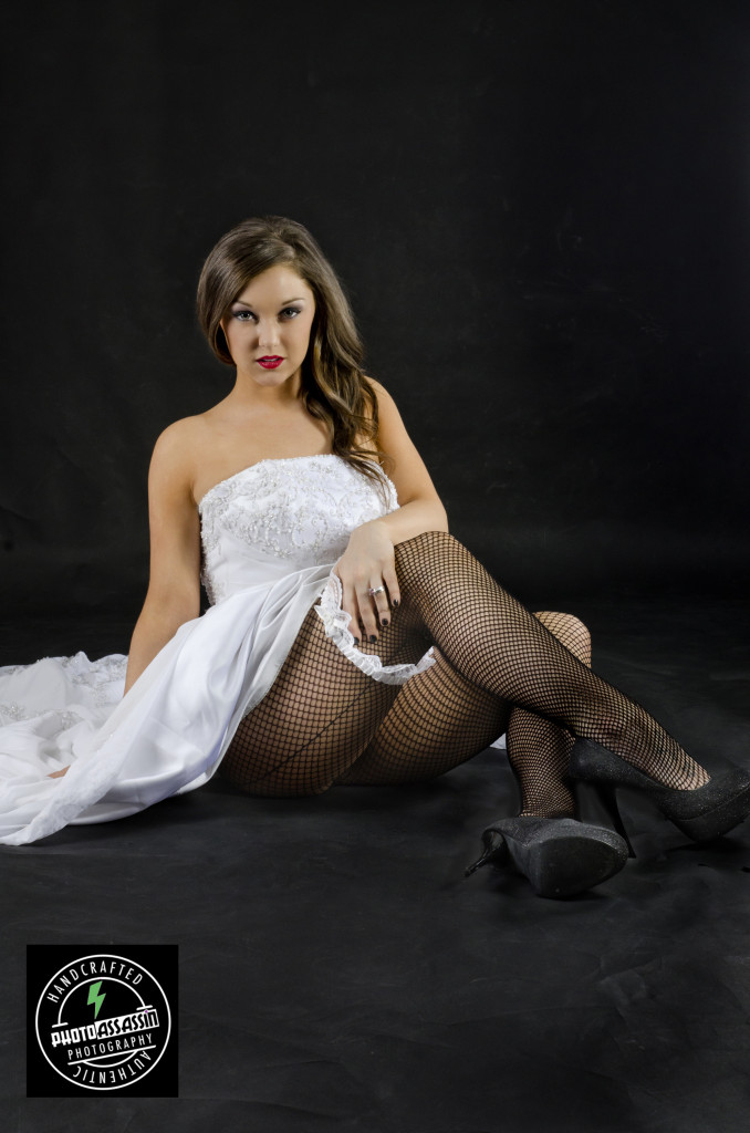 wedding dress front upskirt